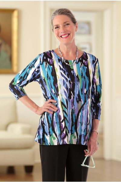 Poly Flared Tunic