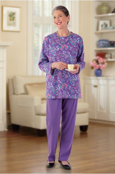 Long Sleeve Mixed Adaptive Knit Set