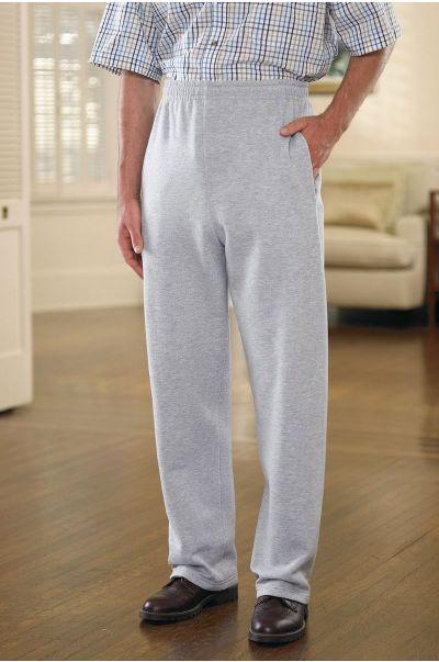 Large Size Open Cuff Sweatpant