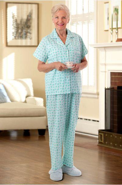 Women's Cotton/Poly Pajamas
