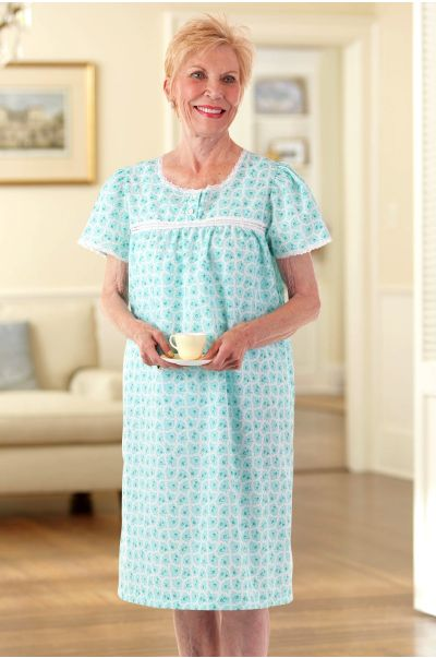 Cotton/Poly Nightgown