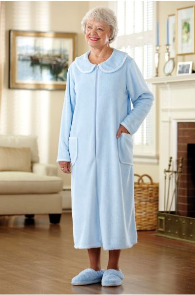 So-Soft Zip-Front Robe