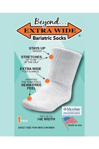 Extra Wide® Bariatric Socks