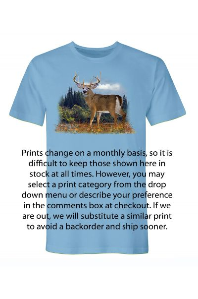 Men's Short Sleeve Printed T-Shirt
