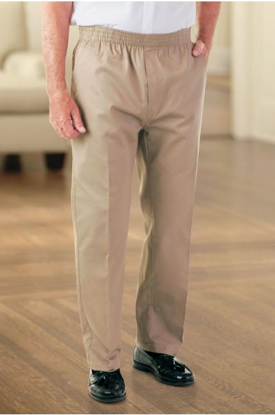 Men's Twill Putter Pants (2X-4X)