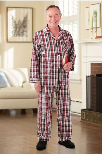 Men's Cotton/Poly Pajamas
