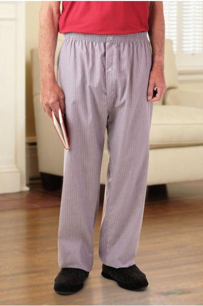 Men's Cotton/Poly PJ Bottoms