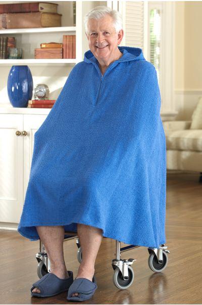Men's Terry Shower Robe