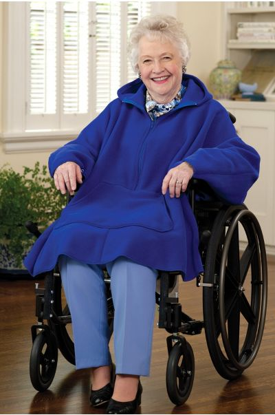 Women's Fleece Poncho