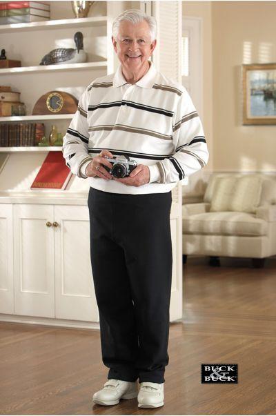 Men's Long Sleeve Polo Jumpsuit (S-XL)