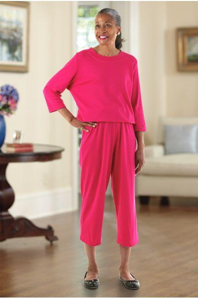 Basic Capri Perfect-Fit Jumpsuit