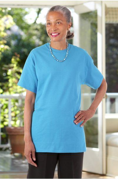 Women's Short Sleeve Solid T-Shirt