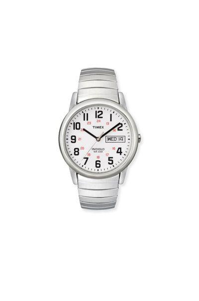 Mens Timex Watch-Silver Tone