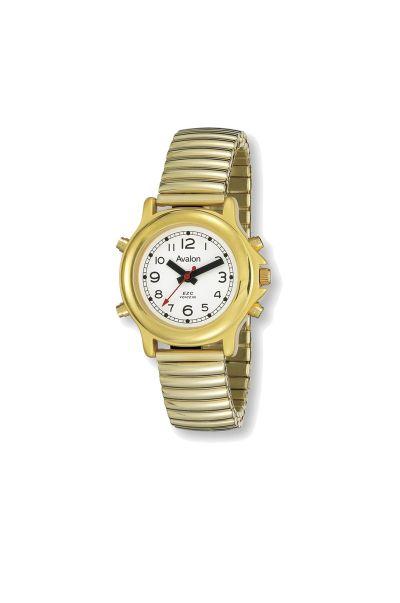 Women's Talking Watch-Gold Tone
