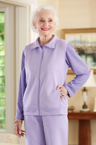 Sweat Fleece Vest (2X Only)