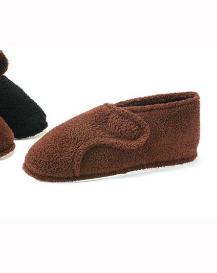 Men's Terry Adjustable Slippers (Sm & Md Only)