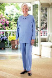 Long Sleeve Basic Adaptive Knit Set