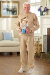 Men's Printed Adaptive Sweatsuit