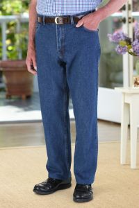 5 Pocket Jeans with VELCRO® Brand fastener fly