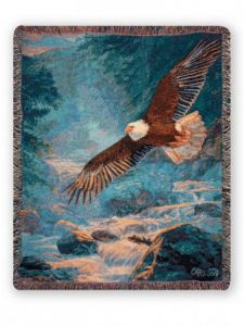 American Majesty Woven Throw