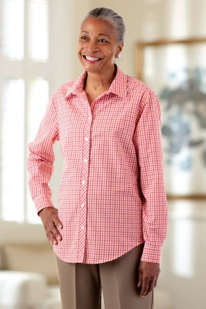 Women's Gingham Shirt