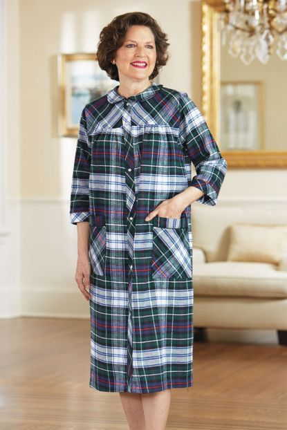 Flannel Duster - Plaid