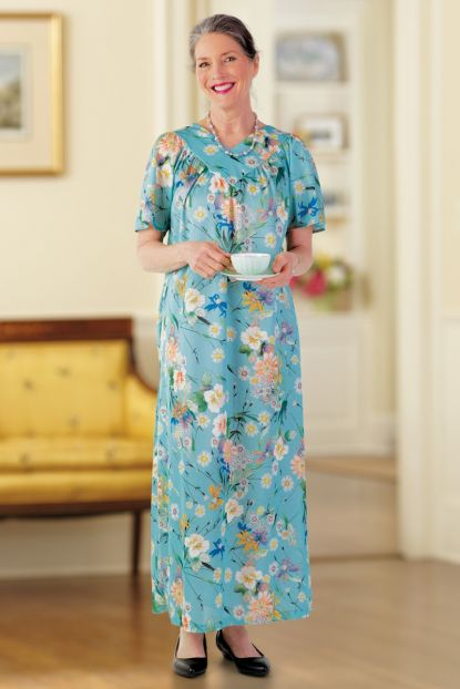 Long Polyester Muu Muu