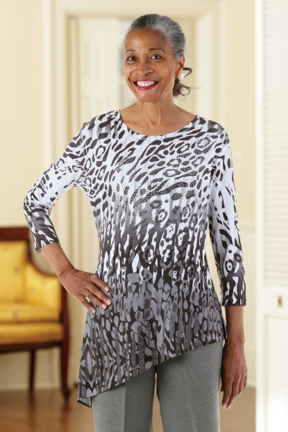 Asymmetric Tunic by Jess and Jane (S, L & XL) 1/2 price!