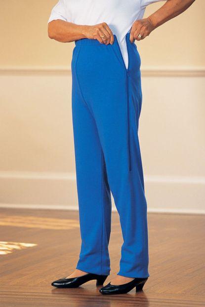 Women's Side-Zip Knit Pants