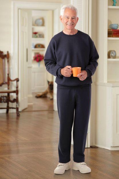 Men's Large Size Basic Sweatsuit (3X Only)
