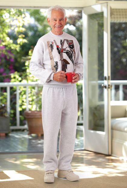 Men's Printed Sweatsuit (S-L)