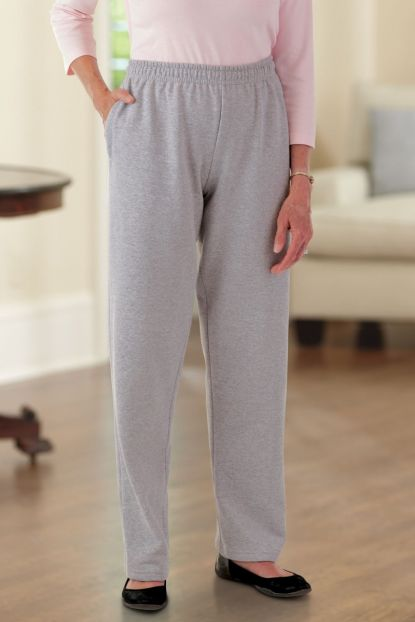 Pocketed Sweat Pant (S-2X)