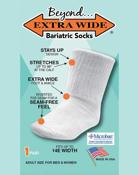 Extra Wide® Bariatric Socks
