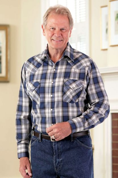 Men's Long Sleeve Western Shirt
