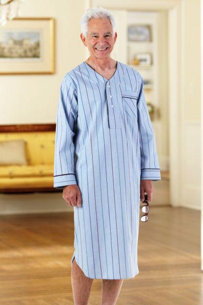 Men's Cotton/Poly Nightshirt