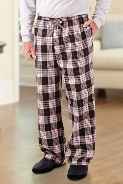 Men's Flannel PJ Bottoms