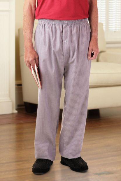 Men's Cotton/Poly PJ Bottoms