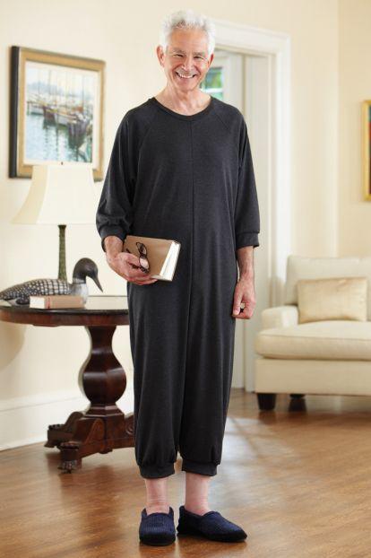 Men's Knicker Back-Zip Sleep Suit