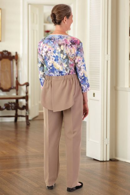 Poly Back-Flap Pants
