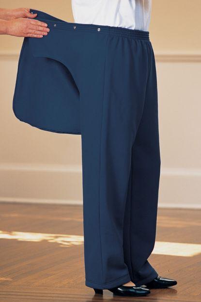 Women's Fleece Back-Flap Pants