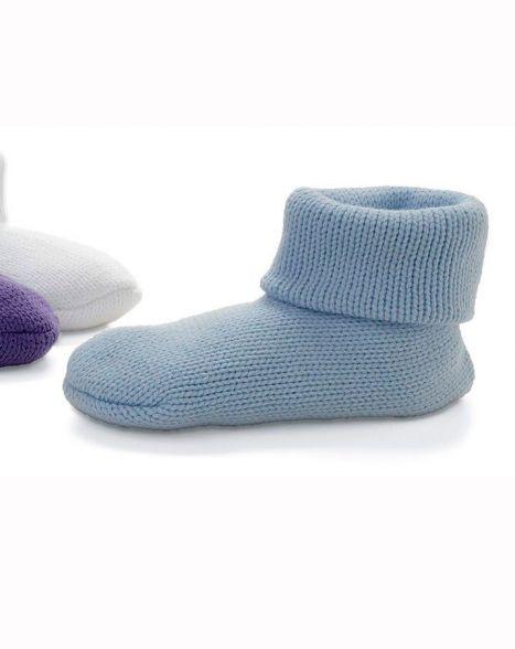Non-Skid Knit Slipper Socks