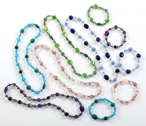 Stretchy Bead Necklace