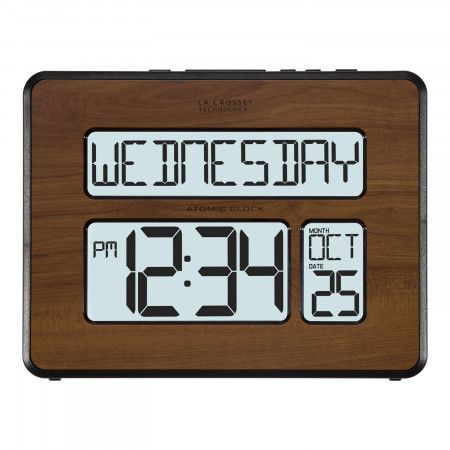 LaCrosse  Atomic Digital Wall Clock w/ Backlight