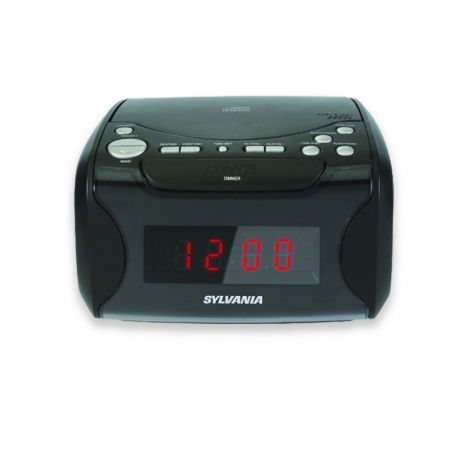 Combo CD Player / AM/FM Clock Radio