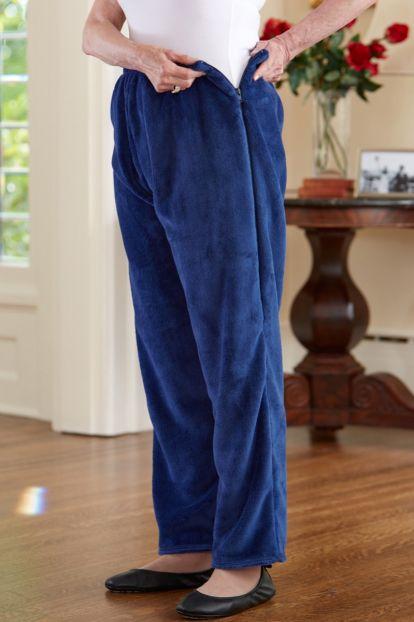 So-Soft Side Zip Pants