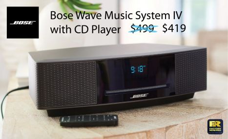 Bose® Wave Music System (AM-FM CD player, Clock, Remote)