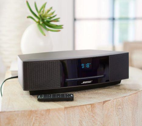Bose® Wave Music System IV (AM-FM/CD player/Dual Alarm Clock w/ Remote)