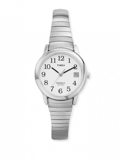 Womens Timex Watch-Silver Tone