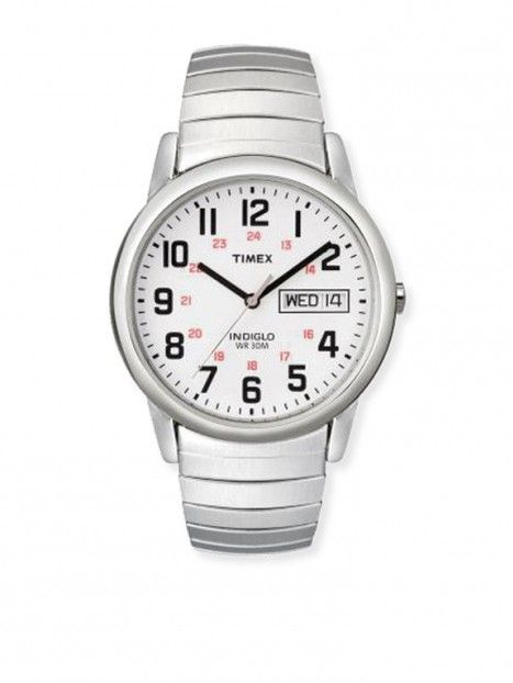 Mens Timex Watch-Silver Tone