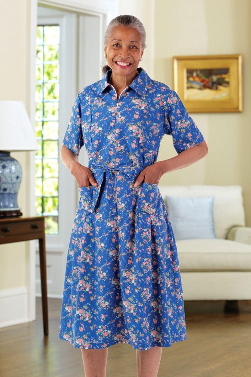 WFH Dress Housedress Poly Mumu